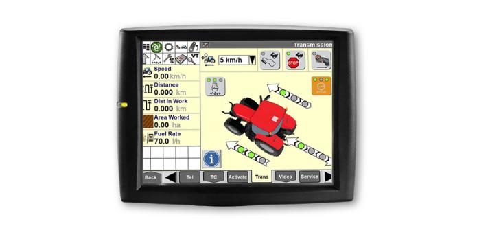 AFS PRO 700 lauksaimniecības tehnikas monitors