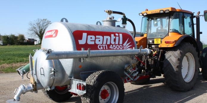 Jeantil GTi vircas izkliedēšanas tehnika