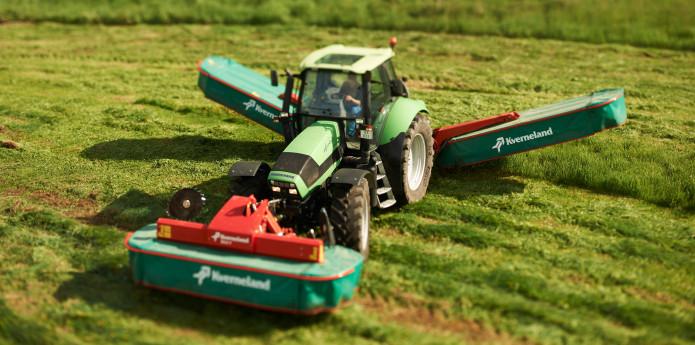 Kombinētās pļaujmašīnas Kverneland 5087M – 5095M