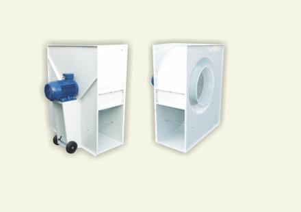 Kongskilde aktīvās ventilācijas sistēmas