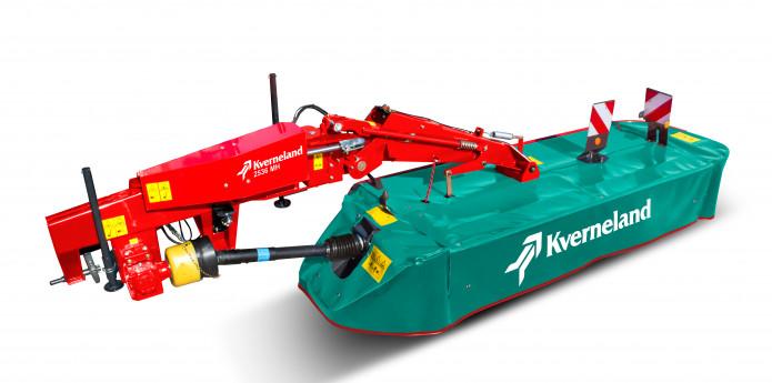 Kverneland 2528 – 2540 uzkarināmās pļaujmašīnas