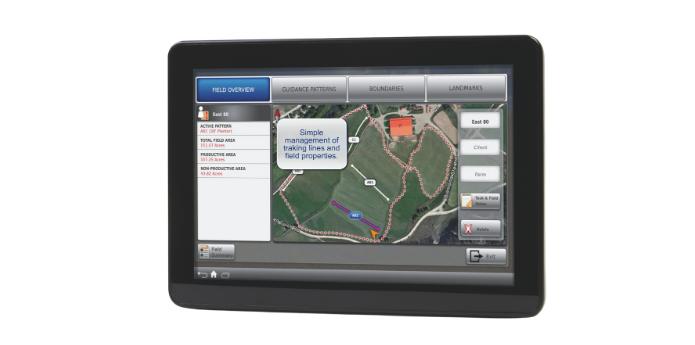 XCN-2050 lauksaimniecības tehnikas monitors